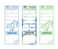 Set of tickets Stock Image