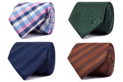 Set of ties Royalty Free Stock Images