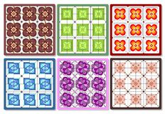 Set of tiles Stock Images
