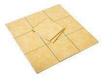 Set of tiles Royalty Free Stock Photos