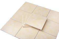 Set of tiles Stock Photo
