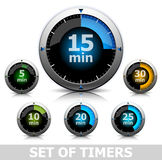 Set Timer Lizenzfreies Stockbild