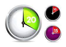 Set of timers Royalty Free Stock Photography