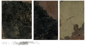 Tintype vintage backgrounds. A set of tintype vintage backgrounds royalty free stock images