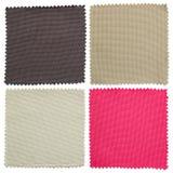 Set tkaniny swatch pobiera próbki teksturę Obraz Stock