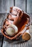 Set to play baseball Stock Photography