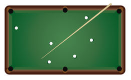Set to play billiards Royalty Free Stock Photo