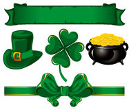 Set to St. Patrick's Day Stock Images