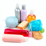 Set of toiletries Stock Image