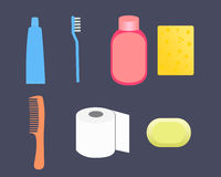 Set toiletries Stock Image