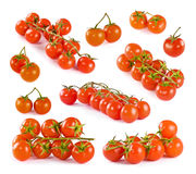 Set of tomatoes Stock Photo