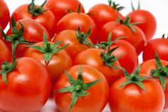 Set of tomatos Royalty Free Stock Images