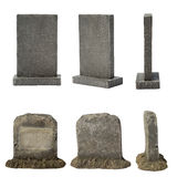 Set of tombstone Royalty Free Stock Photography