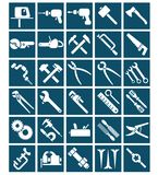 Set of tool icons Stock Images