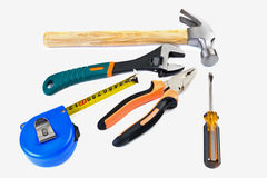 Set tool isolated. On a white background Royalty Free Stock Photo