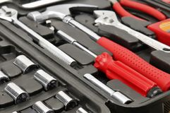 Set tools Royalty Free Stock Images