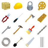 Set of tools Royalty Free Stock Photos