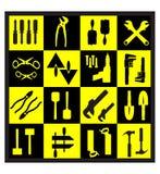 A set of tools Stock Photos