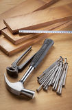 Set of tools Royalty Free Stock Images