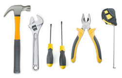 Set of tools Stock Images