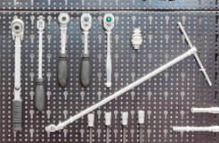Set of tools for aircraft Royalty Free Stock Images