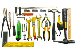A set of tools Royalty Free Stock Photo