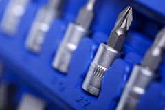 Set of tools closeup Stock Images