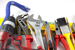 Set of tools do it yourself Royalty Free Stock Images
