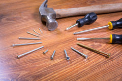 Set of tools for home renovation Stock Photo
