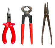 Set tools for house repair. Are isolated Stock Images