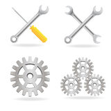 Set of tools icon Royalty Free Stock Image