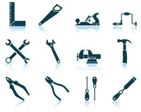 Set of tools icon Royalty Free Stock Photography