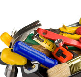 Set of tools and instruments in black box Royalty Free Stock Photos