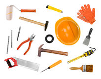 A set of tools Stock Photos