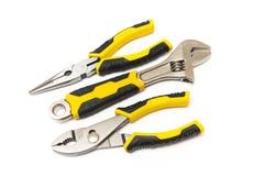 set of tools royalty free stock photo
