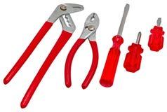 Set of tools Stock Image