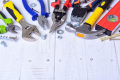 Set of tools Royalty Free Stock Photos