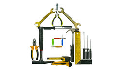 A set of tools Stock Images