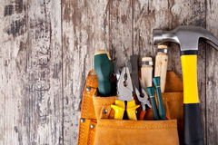 Set of tools royalty free stock image