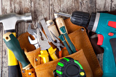 Set of tools Royalty Free Stock Photography