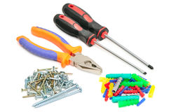 Set tools Royalty Free Stock Photo