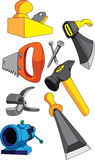 A set of tools Stock Image