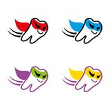 Dental3. A set of tooth icons Stock Images