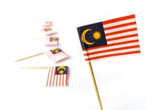 Malaysia flags Stock Photo