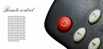 Set top box TV remote control royalty free stock image