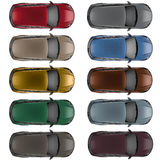 Set of Top view cars in different colors Royalty Free Stock Photos