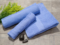 Set of Towels Royalty Free Stock Photography
