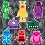 set toy för eps-robot Royaltyfri Bild