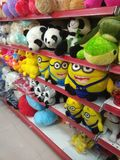 Set of toys in a toy shop. A set of toys in a toy shop in Mahadevpura, Bangalore, India Royalty Free Stock Photography