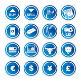 Set trading icons Royalty Free Stock Photo
